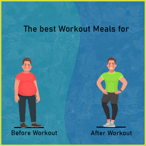 The best workout meals for before and after a workout