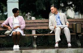 A still from Forrest Gump