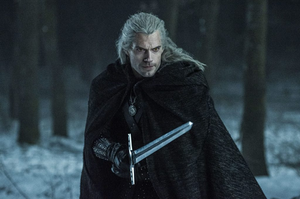 The witcher on its way to kill a beast.