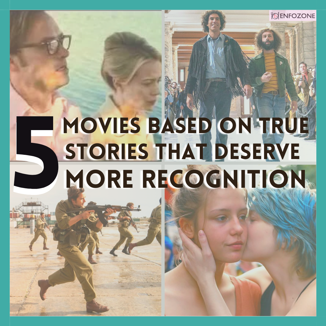 5 Movies Based on True Stories that deserve more Recognition